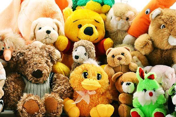 мягких игрушек