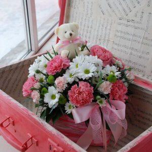 Букет цветов для девочки