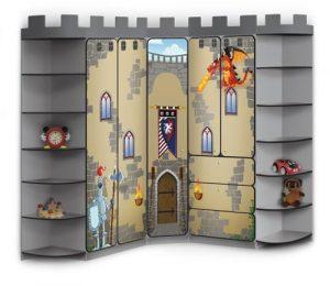 Рыцарский замок из шкафа