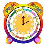 Как учить ребенка различать время?!