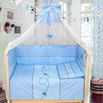 Как выбрать принадлежности для кроватки для новорожденного