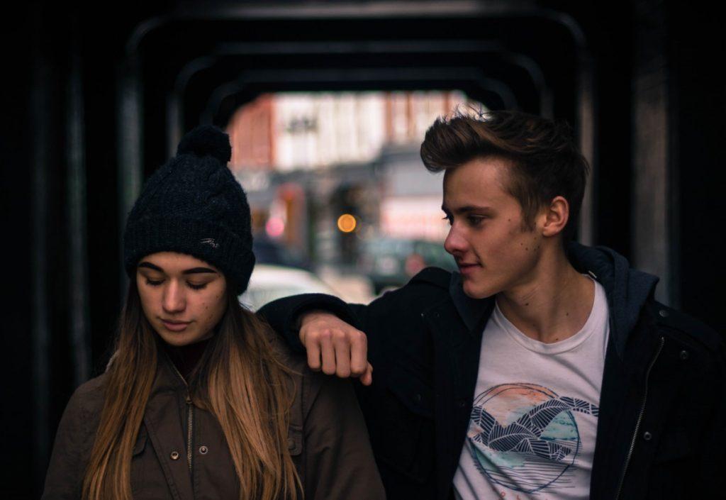 первая любовь у подростков