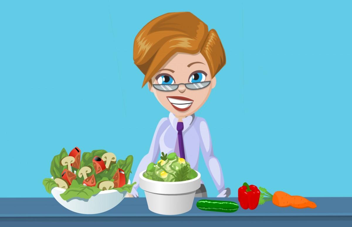 Здоровое питание женщины