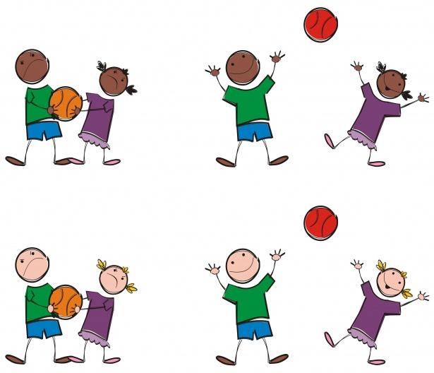 Игры с мячиком для детей