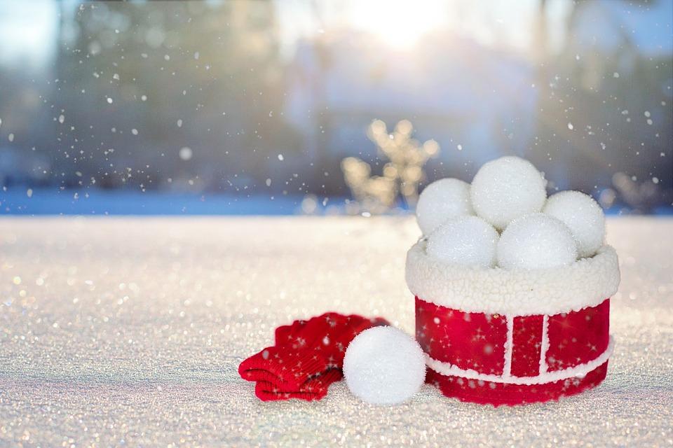 Игра  «Снежный бой»
